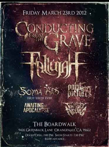 Conduting From the Grave poster