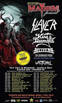 Mayhem Fest Flyer 2015 s