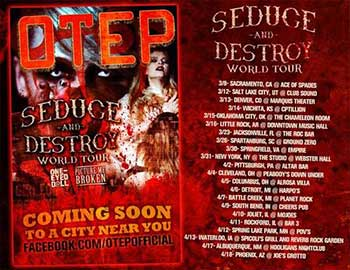 otep seduce and destroy 350