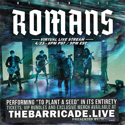 we came as romans livestream